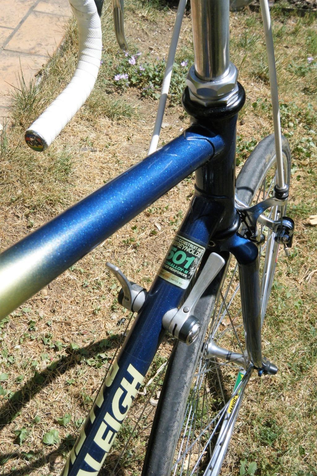 raleigh GIRO reynolds 501 3 tubes 1987 shimano 105 Dscf0028