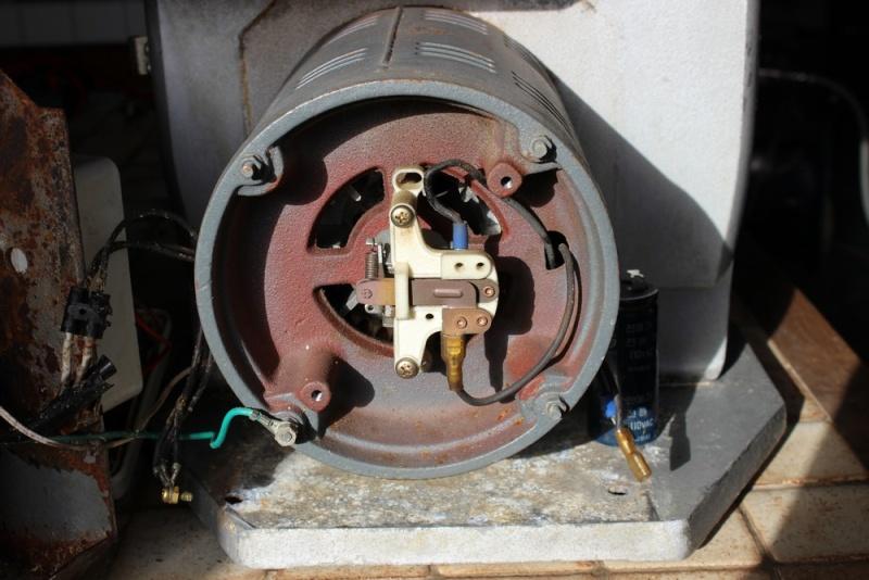 problème interrupteur Scie211