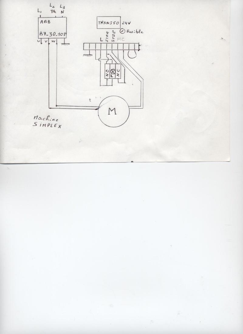 problème interrupteur Scie310