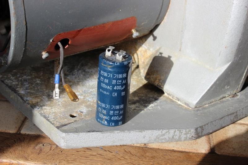 problème interrupteur Scie312