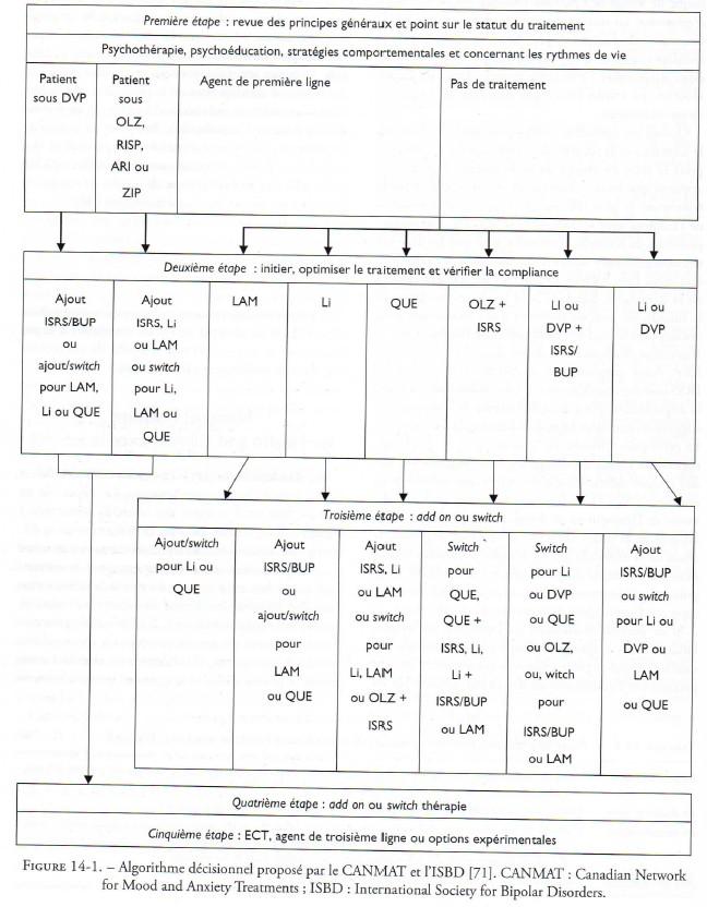 Mauvaise copie algorithme Canmat sur la dépression bipolaire par les psy francais - Neptune