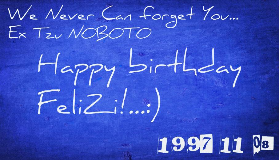 Happy Birthday Feliz Felizb12