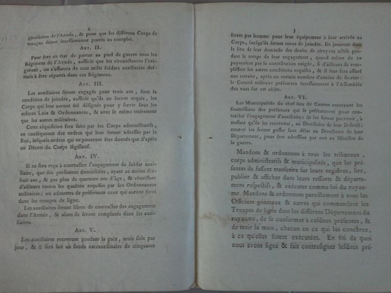 Loi portant sur la sureté du royaume - 4 février 1791 Photo012