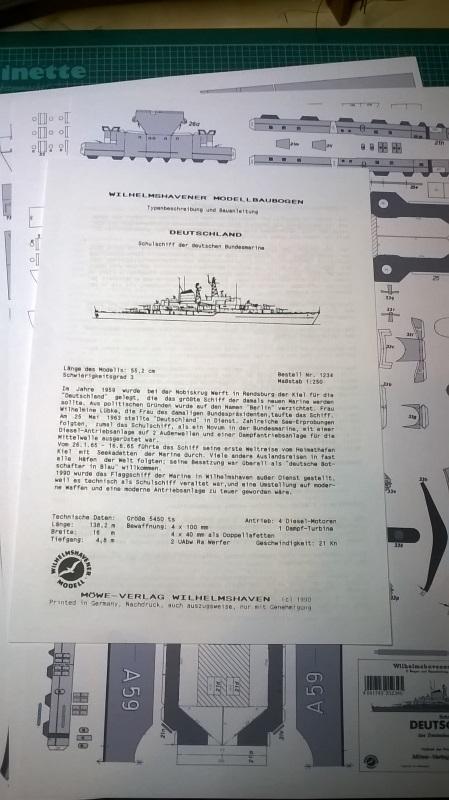 Schulschiff Deutschland 1:250 Bausat10