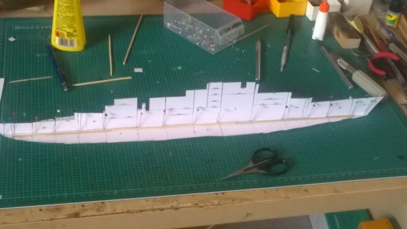 Schulschiff Deutschland 1:250 Rohbau10