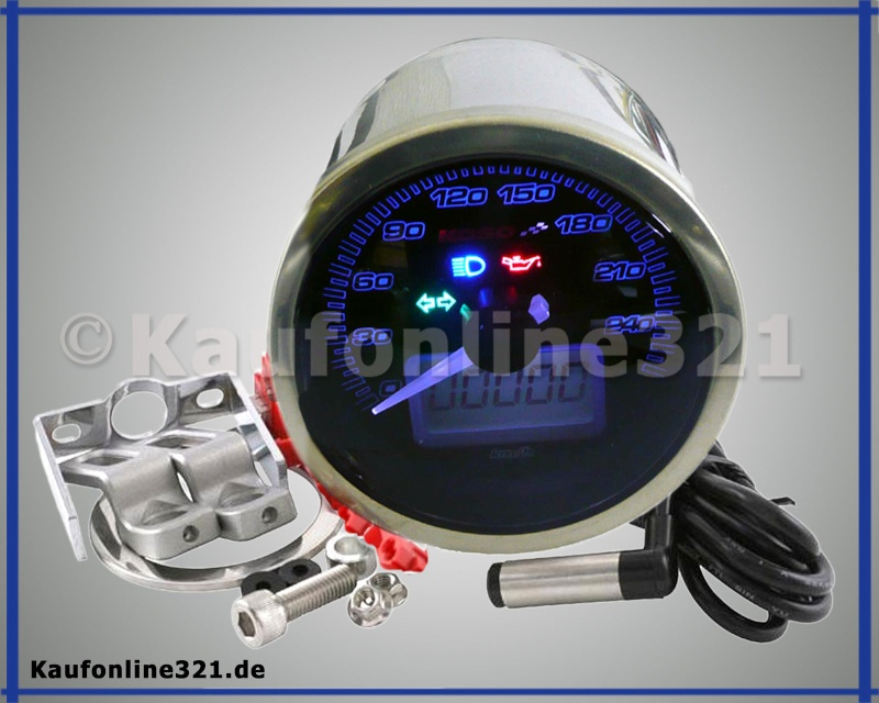 Aftermarket Koso Gauge Speedo10