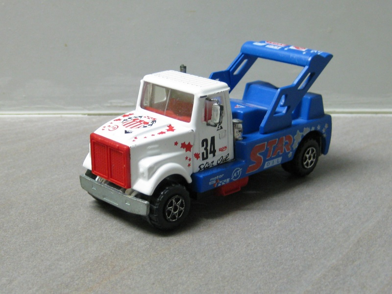 N°3028 White Road Boss 2 Camion de Course White_10