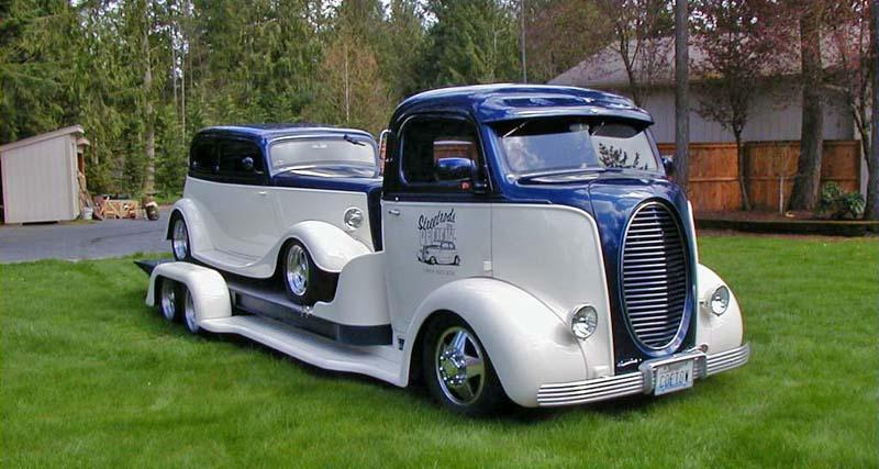 FORD 1938 COE hauler de DENNY OLSON : terminé 00aa10