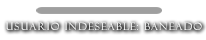 Barra de respeto Banead10
