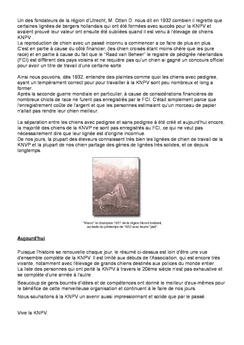 Historique KNPV Knpv_h14