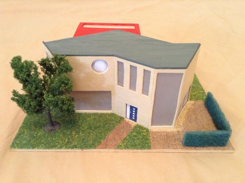 Présentation de ma deuxième maquette de maison moderne 2013-010