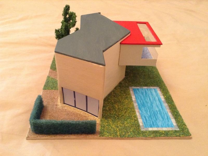 Présentation de ma deuxième maquette de maison moderne 2013-011