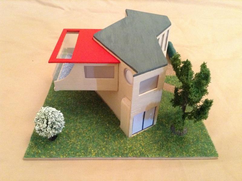 Présentation de ma deuxième maquette de maison moderne 2013-012