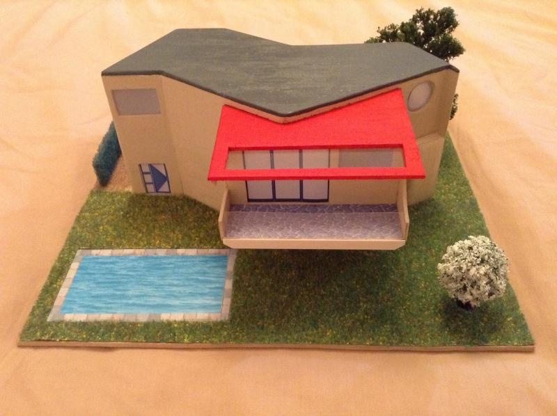 Présentation de ma deuxième maquette de maison moderne 2013-013