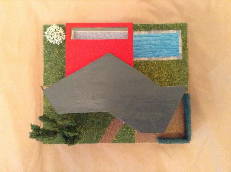 Présentation de ma deuxième maquette de maison moderne 2013-014