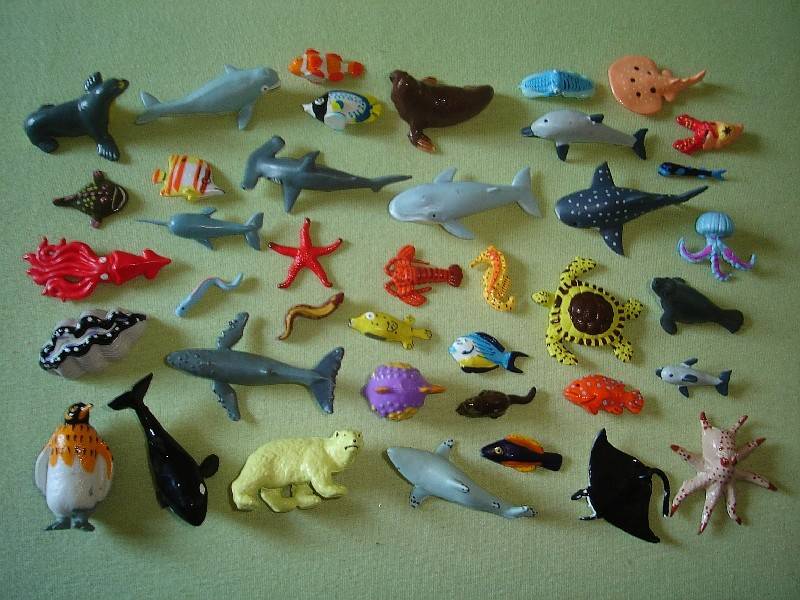Panini Sealife Figures Neu05110