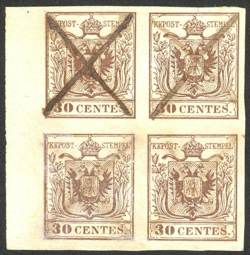 Lombardei - Venetien 1850 - 1858 - Seite 3 Vierer10