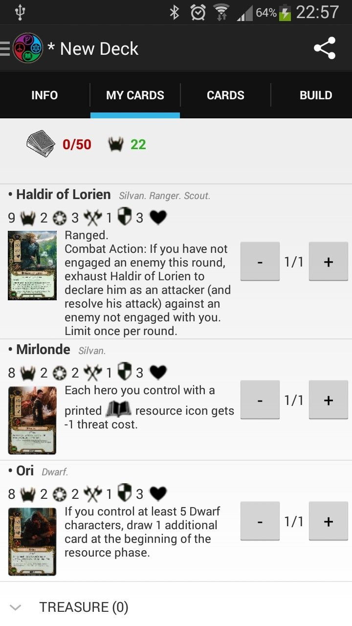 LoTR DeckBuilder - Application Android (disponible voir page 8) - Page 2 Mirlon10
