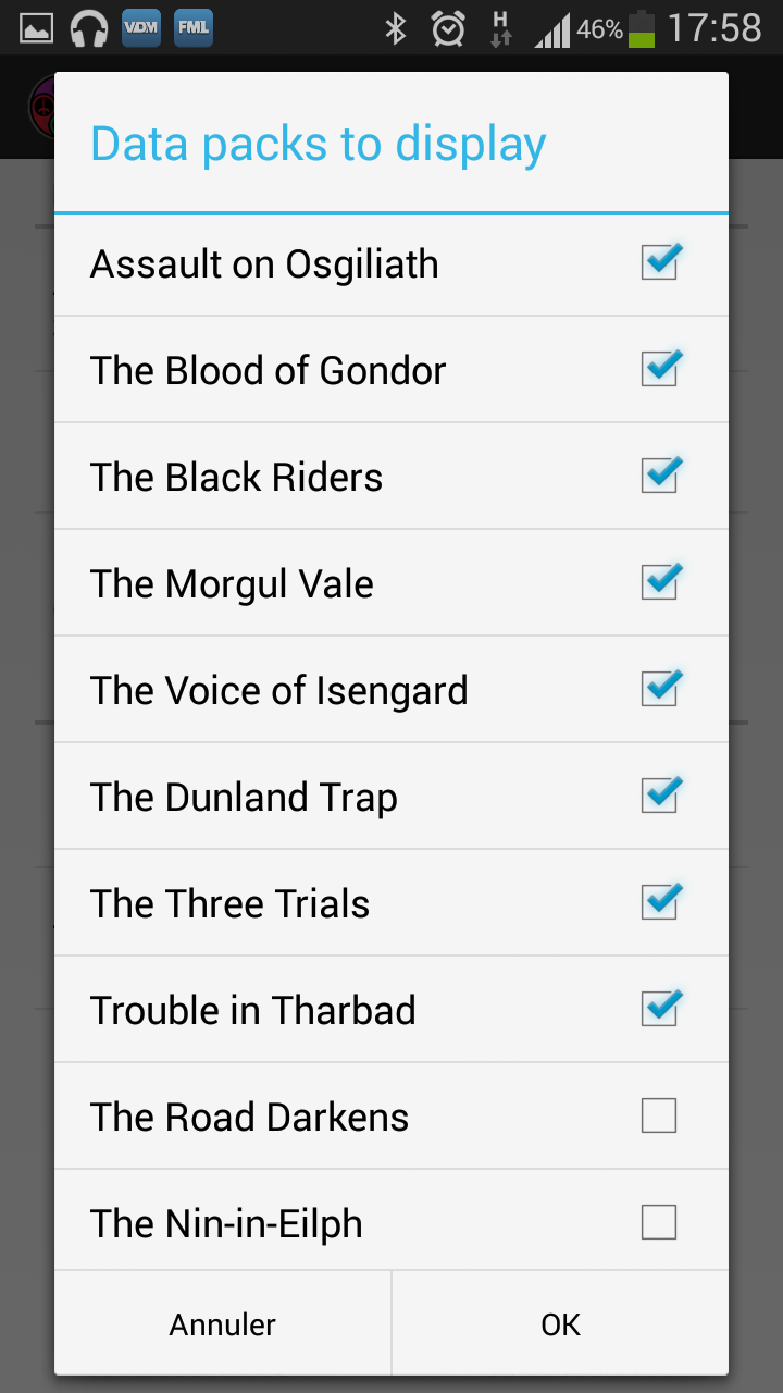 LoTR DeckBuilder - Application Android (disponible voir page 8) Setlis10