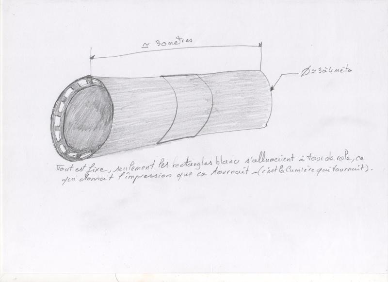 observation engin de forme cylindrique . 00110