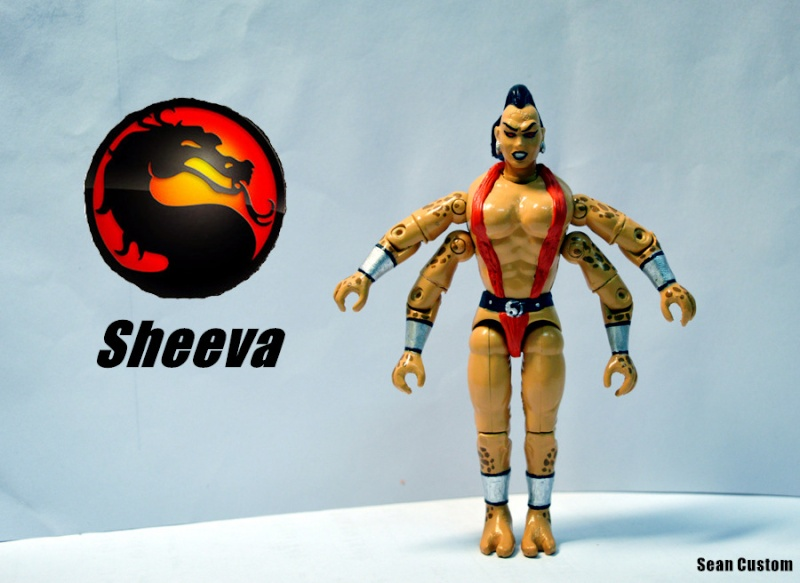 Shao Kahn & other MK figures  Sheeva10