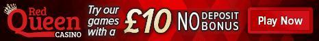 Red Queen Casino free cash