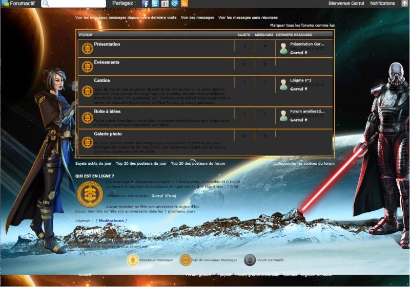 Forum améliorations possibles Ycran11