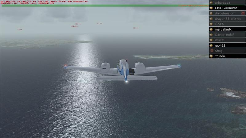 Rapport du vol: Ouessant (LFEC) à Ile de Re (LFBH) 2014-117