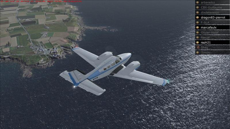 Rapport du vol: Ouessant (LFEC) à Ile de Re (LFBH) 2014-120