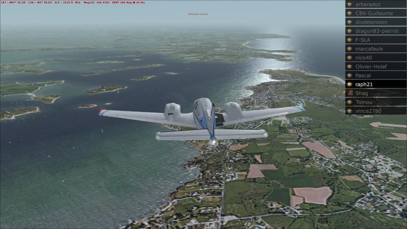 Rapport du vol: Ouessant (LFEC) à Ile de Re (LFBH) 2014-121