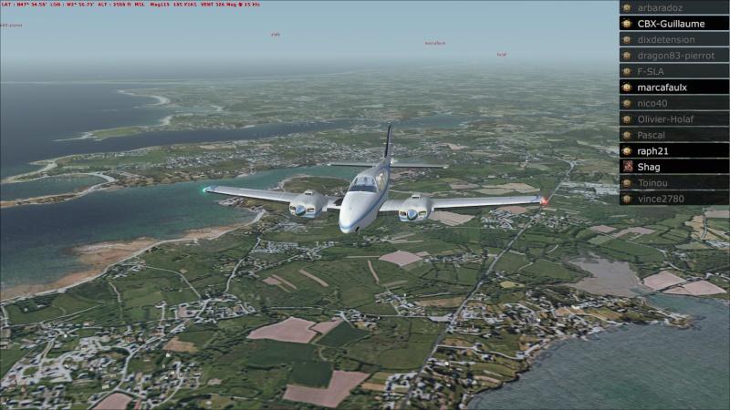 Rapport du vol: Ouessant (LFEC) à Ile de Re (LFBH) 2014-123