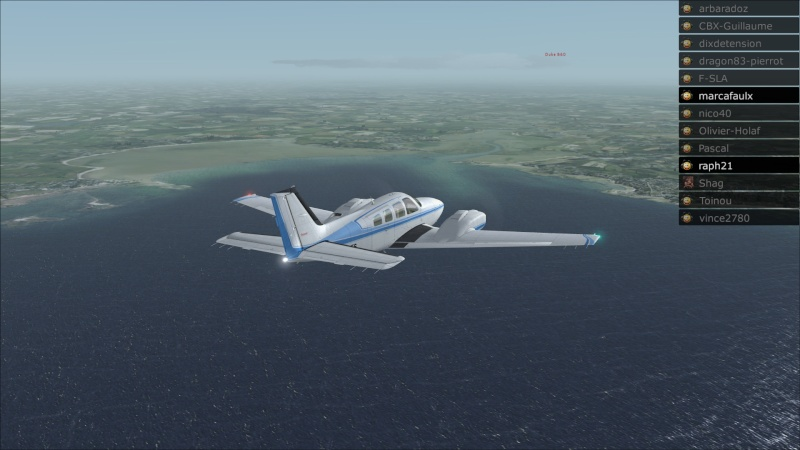 Rapport du vol: Ouessant (LFEC) à Ile de Re (LFBH) 2014-124