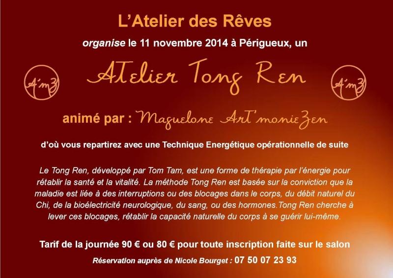 Dates de transmission de la pratique du Tong Ren par  Maguelone 10714110