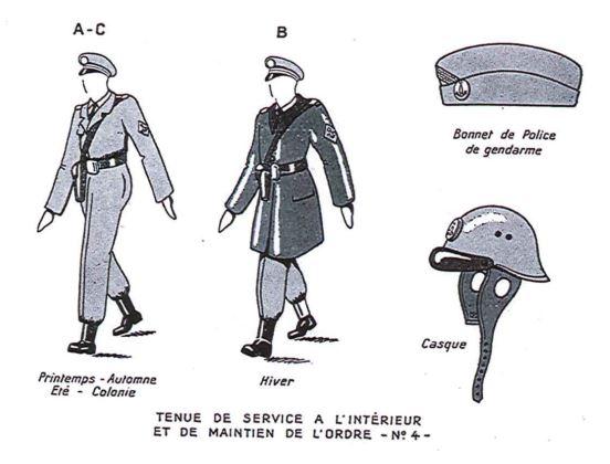 [Divers Gendarmerie Maritime] Port du calot dans la gendarmerie maritime Calot_10
