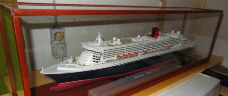 Revell Queen Mary 2 1:400 20141114