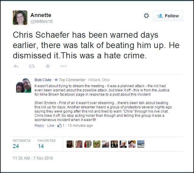 Twitter Evidence Here Annett10