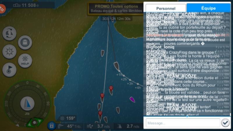 Virtual Regatta, Transatlantique en solitaire - Page 3 Screen12