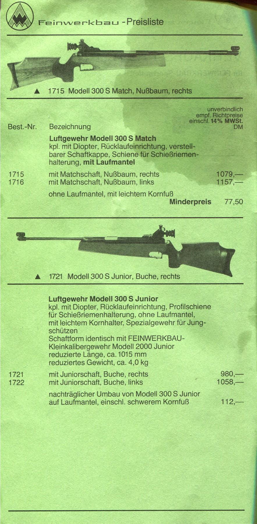 FEINWERKBAU 300S Kit MACCARI Lunette LUGER LR 8-32X44 Target Dot - Page 9 3195c010