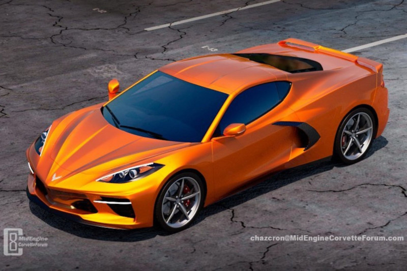 Le nouveau design de la Corvette C8 se précise ... 15537511