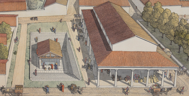 L'ancien oppidum bituriges, Argentomagus! Fontai11