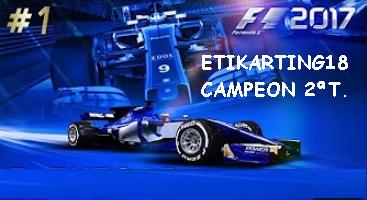 CLASIFICACION 2ª TEMPORADA F1 2017 F111