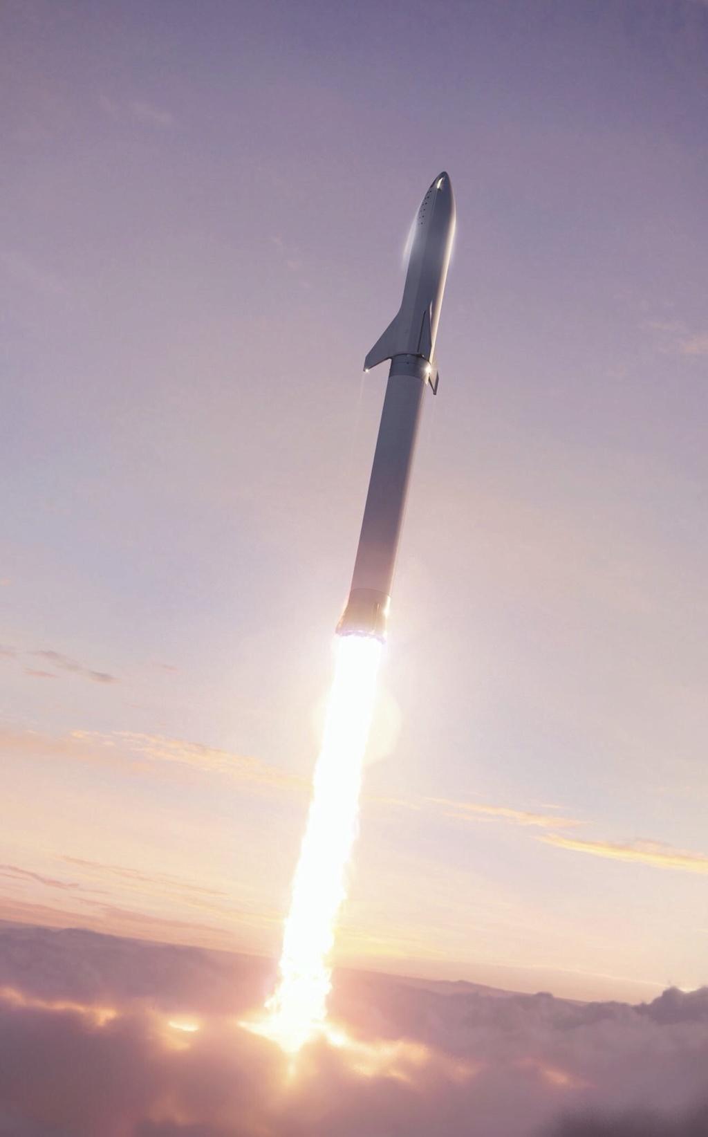 SpaceX change le design du vaisseau de la BFR Ad4ccb10