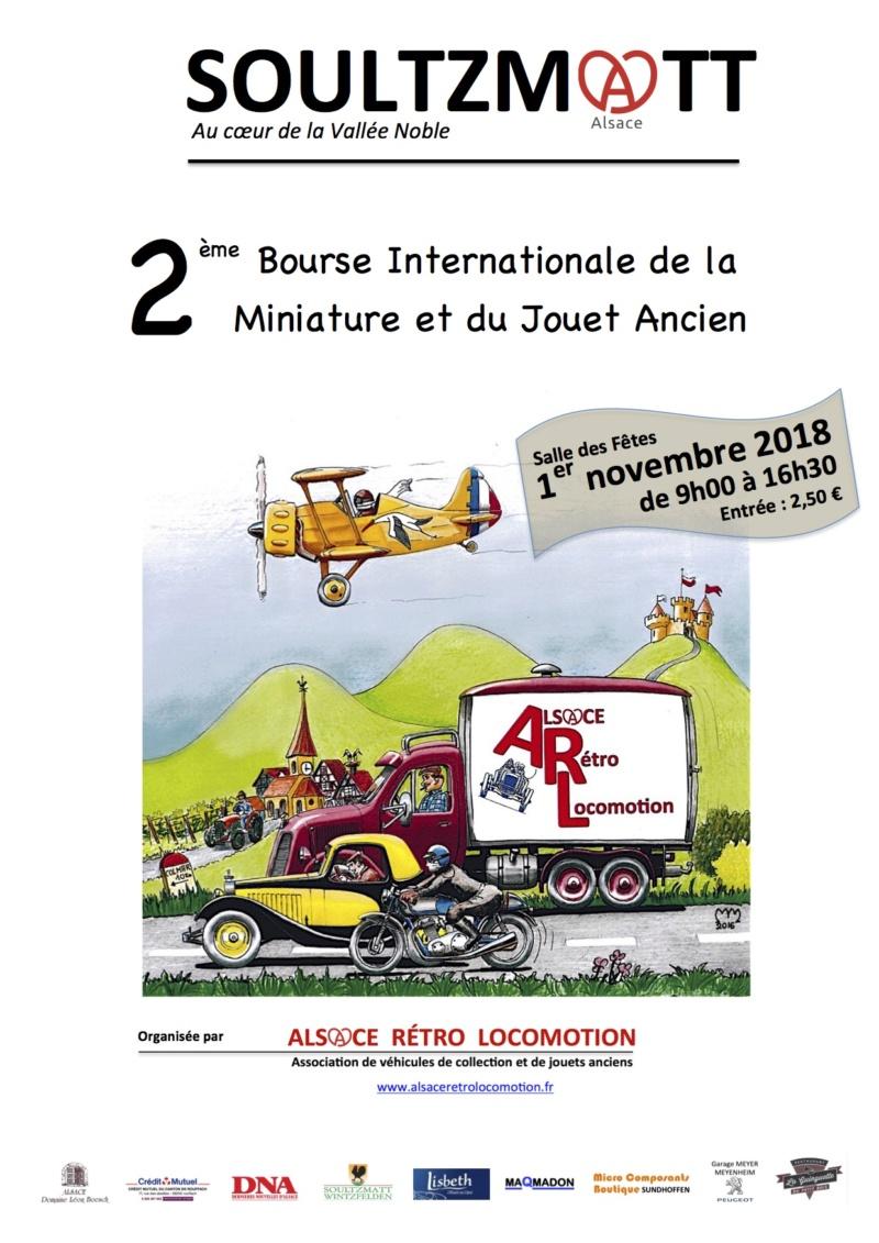 2ème Bourse Internationale de la Miniature et du Jouet Ancien. Affich10