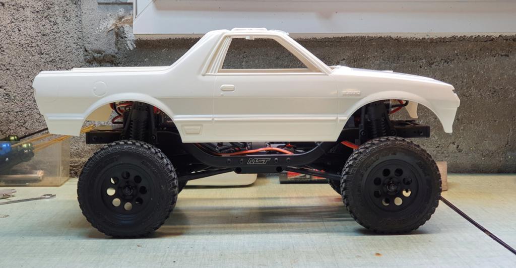 projet MST CFX avec carro Tamiya Subaru Brat 20200410