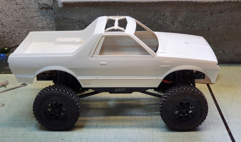 projet MST CFX avec carro Tamiya Subaru Brat 20200411