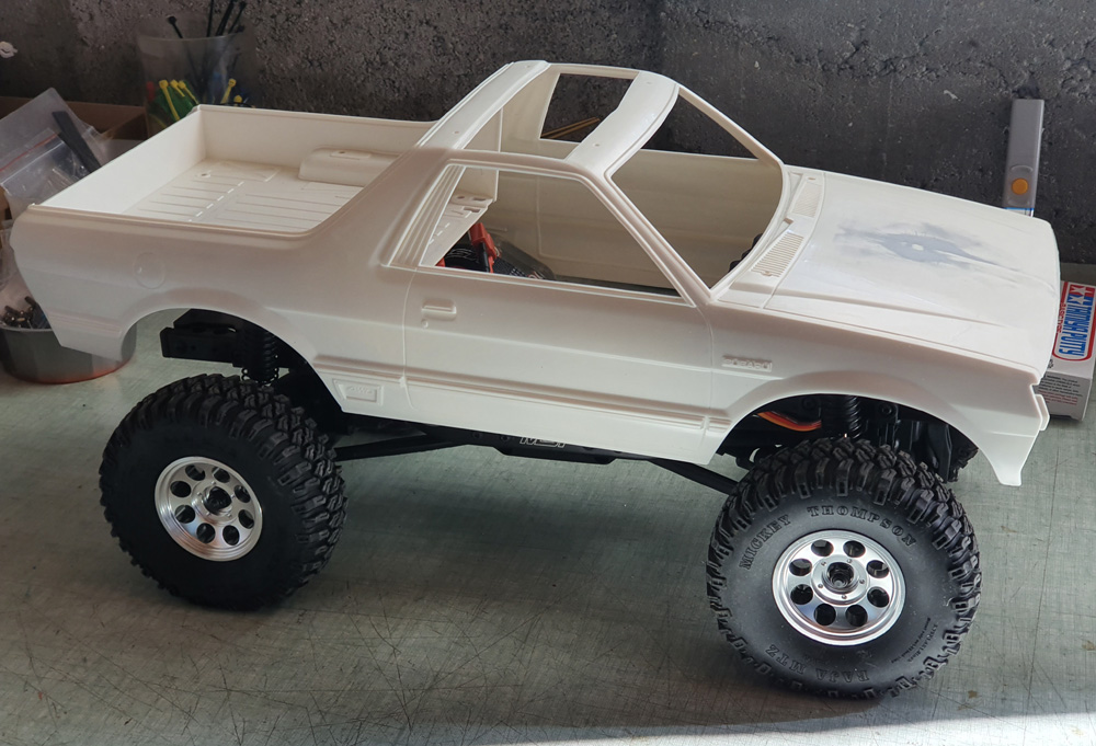 projet MST CFX avec carro Tamiya Subaru Brat 20200413