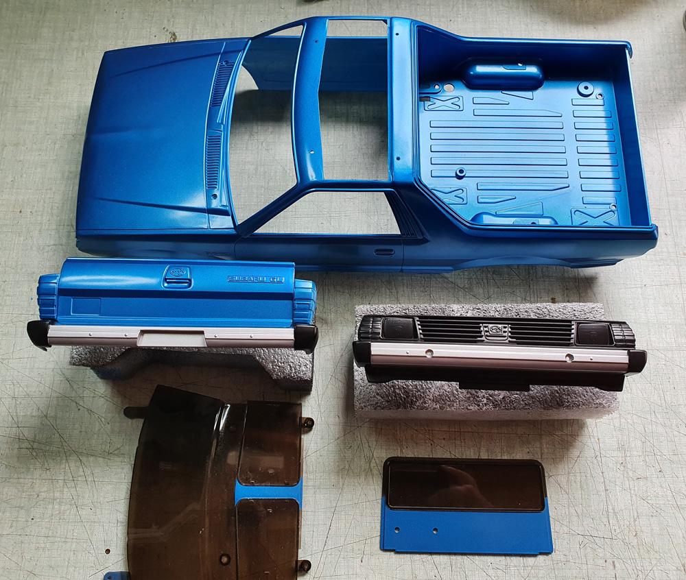 projet MST CFX avec carro Tamiya Subaru Brat 20200518