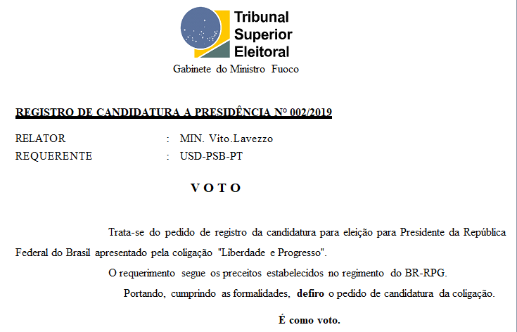 [REQ] Registro de Candidatura 002/2019 Screen15
