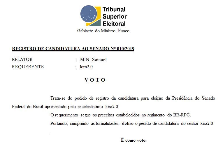 [REQ] Reg. Cand. ao senado 010/2019 Screen22