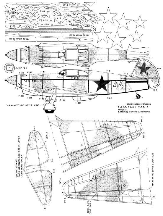 """YAK-1 """"early"""" produit avec des moules dignes de Tchernobyl... - Mister Craft - 1/72 4960d310"""